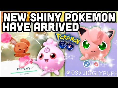 New shiny Pokemon have arrived in Pokemon GO | Shiny Igglybuff & Buneary | NEW sale boxes & more thumbnail