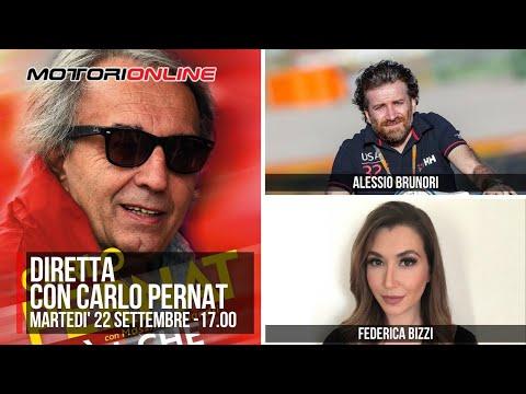DIRETTA - Intervista a Carlo Pernat a cura di Alessio Brunori e Federica Bizzi