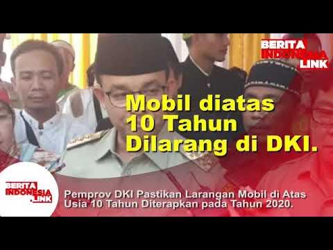 Mobil diatas 10 tahun dilarang di DKI Jakarta!!