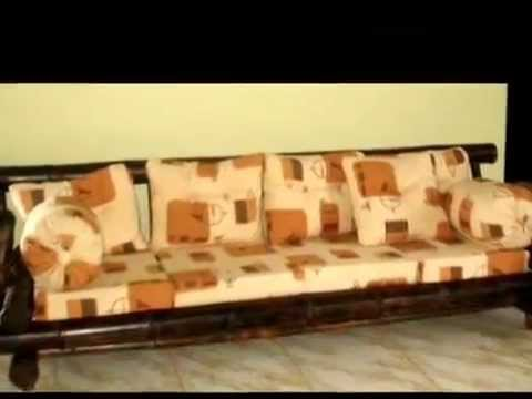 Muebles de bamb youtube for Muebles bambu