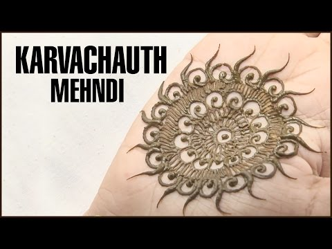 An Easy Mehndi Design That You Can Do At Home