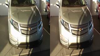 Chevrolet VOLT in 3D without glasses  Walk around exterior view