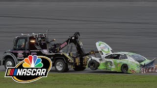 Austin Dillon, Clint Bowyer ignite wreck in Daytona Cup race | Motorsports on NBC