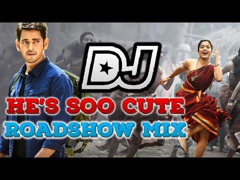 He's Soo Cute Dj Song   Tdrs | Sarileru Neekevvaru | Mahesh Babu, Rashmika,anil Ravipudi | Dsp