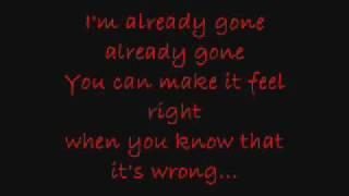 Already Gone - Kelly Clarkson (lyrics)