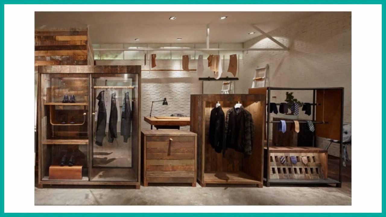 609c34beea1 Самые стильные магазины мужской одежды. Современный дизайн бутика - YouTube