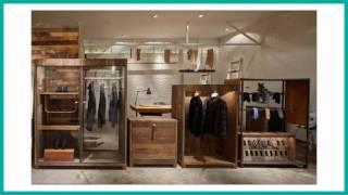 Самые стильные магазины мужской одежды.  Современный дизайн бутика