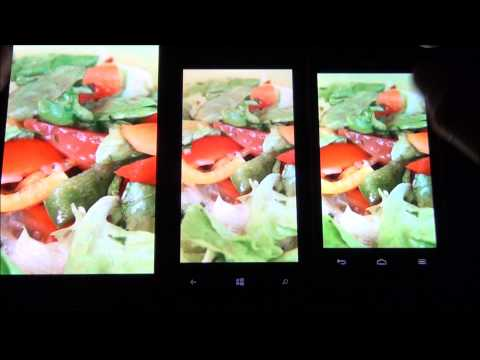 Displaycheck: Windows Phone 8X by HTC, Samsung Galaxy Note, HUAWEI Ascend G330