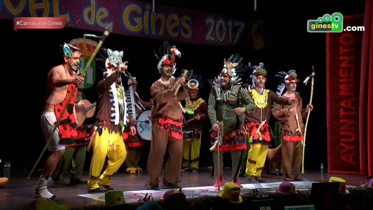 La Cía de Andalucía. Carnaval de Gines 2017 (Segunda semifinal)