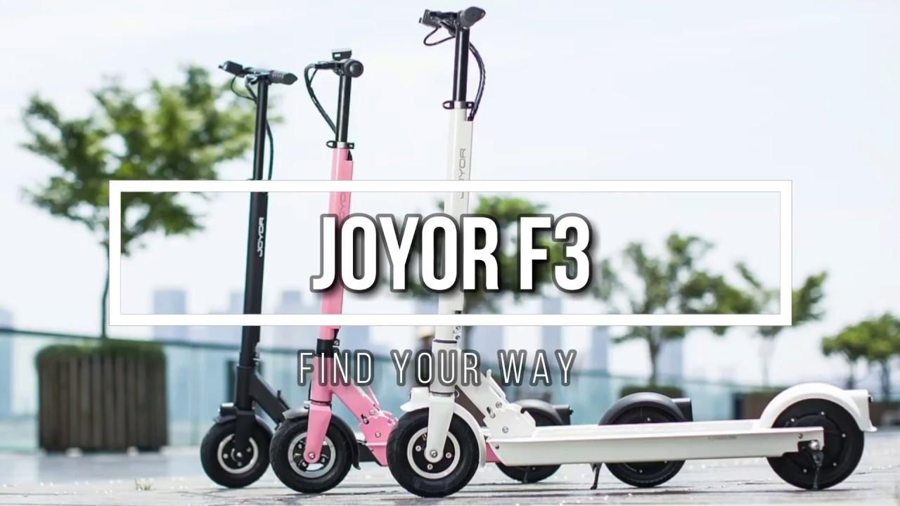 Monopatín eléctrico JOYOR F3 - Самые лучшие видео
