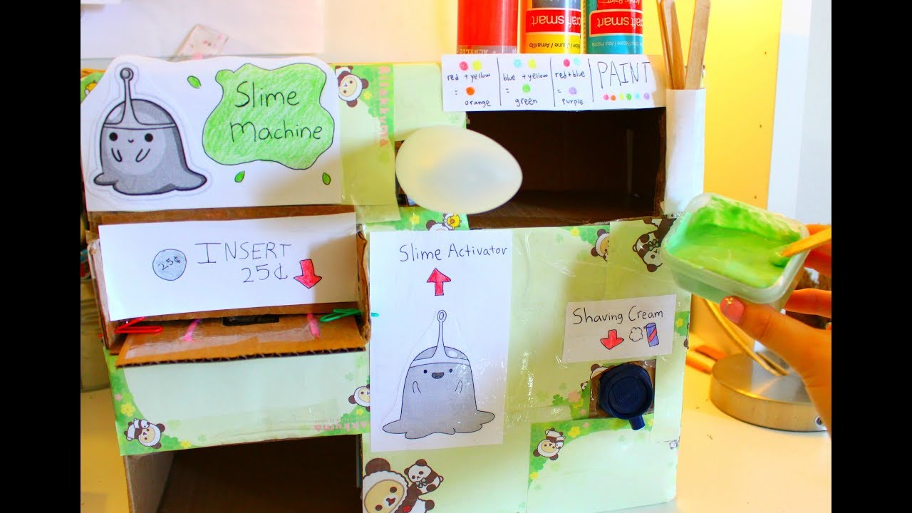 homemade slime vending machine 2 0 requires youtube. Black Bedroom Furniture Sets. Home Design Ideas