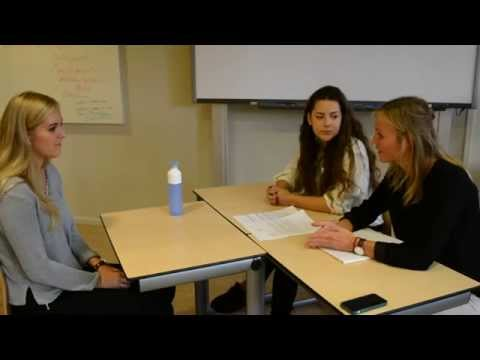 Job Interview Rotterdam University of Applied Sciences