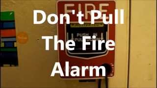 Kid Pulls The Fire Alarm