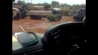 Actros Tanker Maneuvre