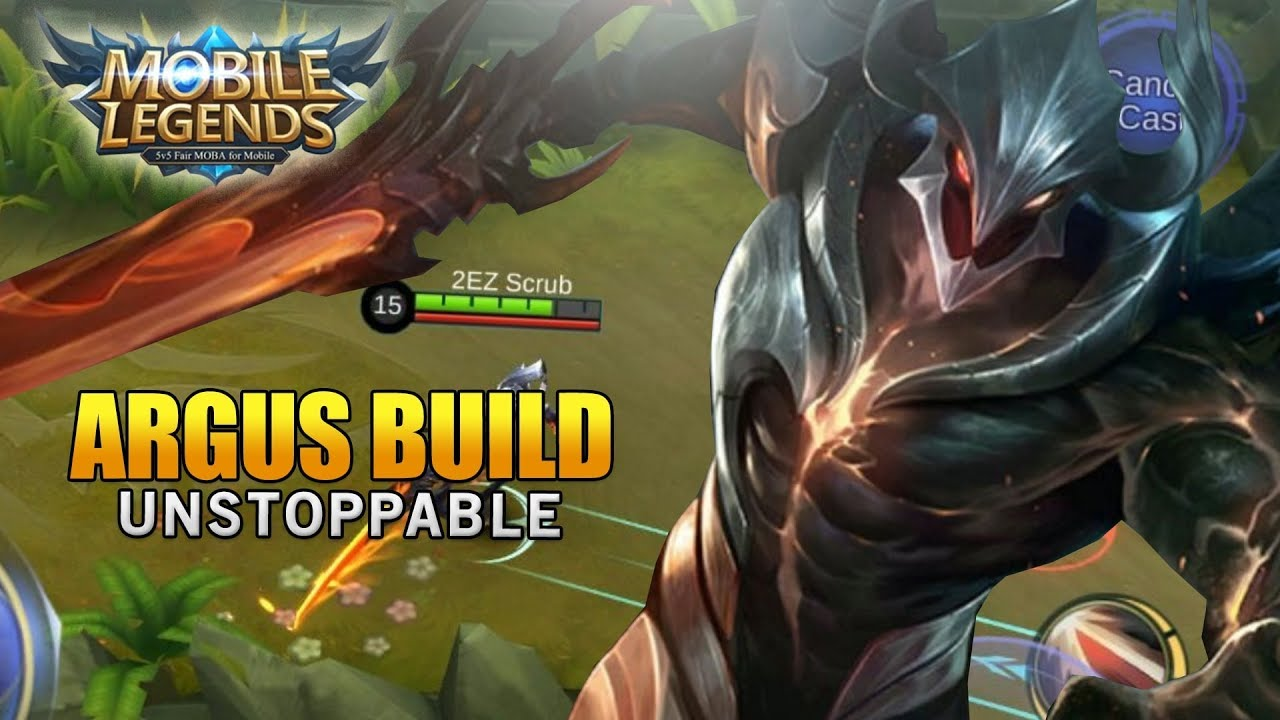 Mobile Legends Argus Unstoppable Build - YouTube