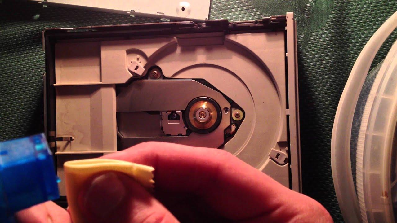 laser linse eines cd oder dvd laufwerks reinigen eine. Black Bedroom Furniture Sets. Home Design Ideas
