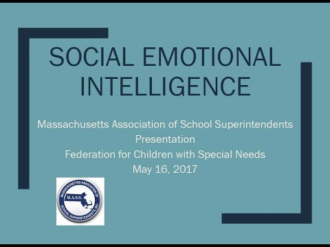 Massachusetts Association of School Superintendents' Position Paper on Behavioral Health and Social