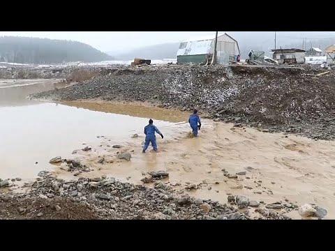 فيديو: مقتل 15 شخصا نتيجة انهيار سد في منجم للذهب في سيبيريا…  - نشر قبل 11 ساعة