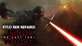 Star Wars The Last Jedi - Kylo Ren Repairs His Lightsaber