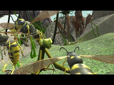 Wasp Nest Simulator - Insect And 3d Animal Game Android Gameplay