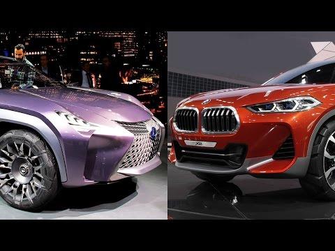 BMW X2 vs Lexus UX новые мини кроссоверы
