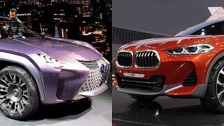 BMW X2 vs Lexus UX — новые мини-кроссоверы