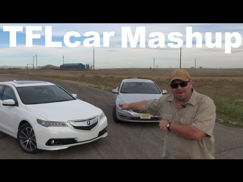 2015 Acura TLX vs Volvo S60 T6 0-60 MPH Mashup Review: And the Fastest Mid Sized Sedan is?