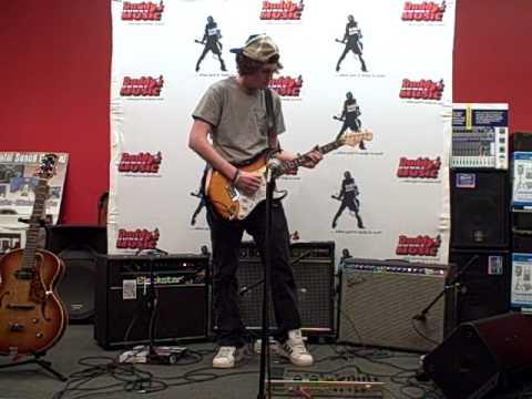 Daddys Junky Music Battle for Berklee - Grand Prize Winner - PJ Brutzman