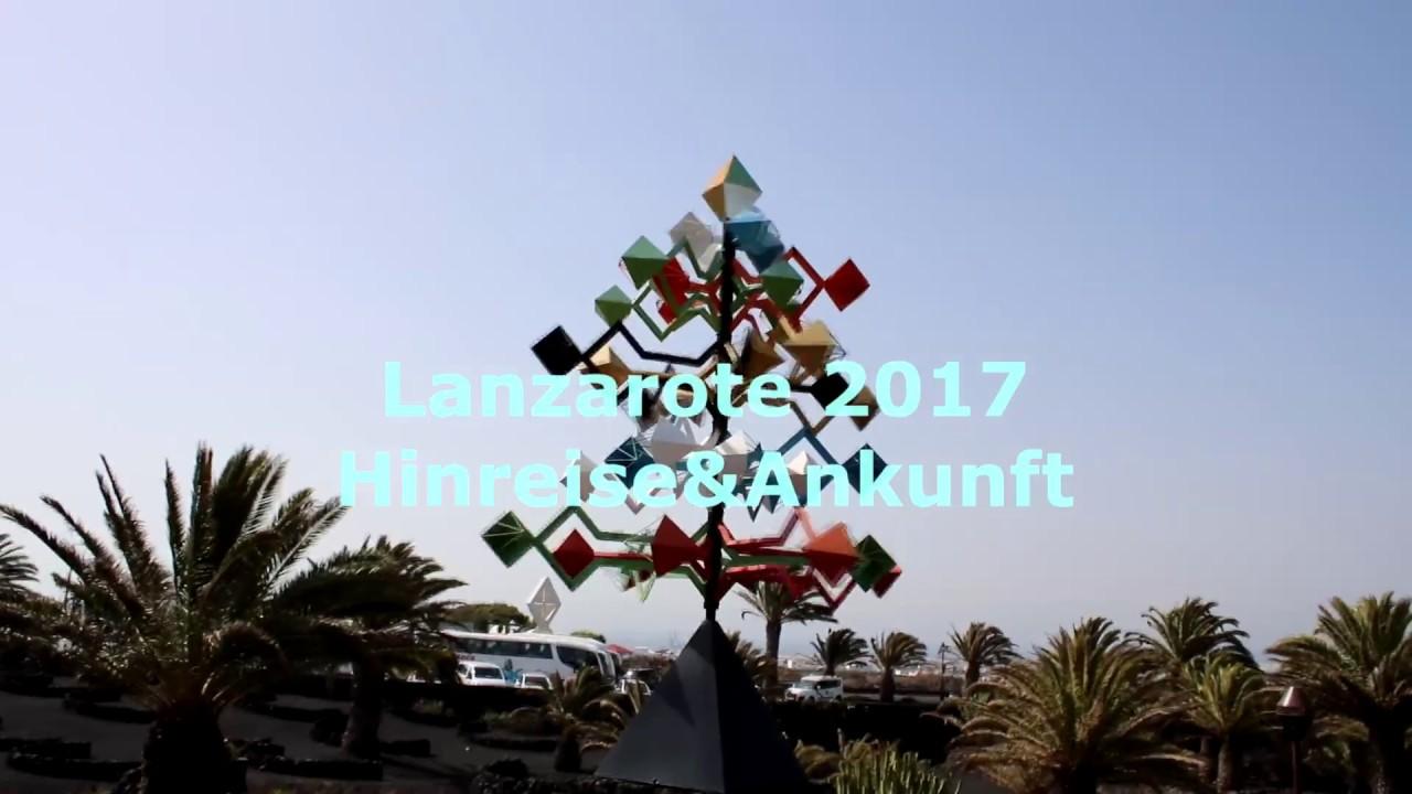 Ankunft Lanzarote