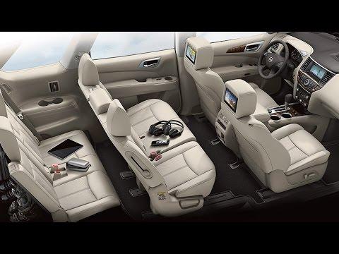 Nissan pathfinder 2015 interior