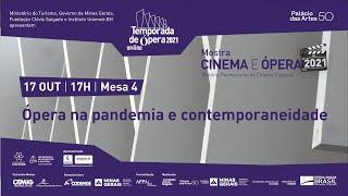 HISTÓRIA PERMANENTE DO CINEMA ESPECIAL |  Ópera na pandemia e contemporaneidade