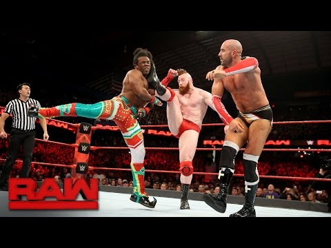 Cesaro & Sheamus vs. The New Day - Raw Tag Team Championship Match: Raw, Dec. 26, 2016