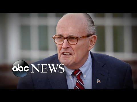 Giuliani admits he has 'insurance' should Trump turn on him