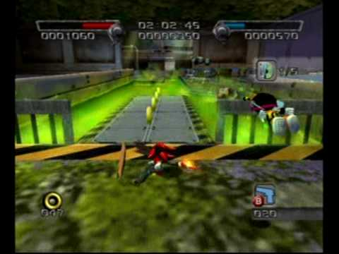 Shadow the Hedgehog (GC) - stage 3, prison island (hero, E, 9130 pt. 1 of 2)