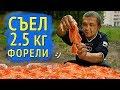 СЪЕЛ 2 5 КГ ФОРЕЛИ ЗА 2000 РУБЛЕЙ mp3