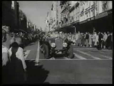 Auckland harbour bridge opening 1959