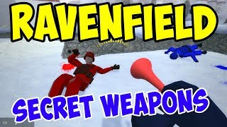 UNLOCKING NEW SECRET WEAPONS (Beta 6) - Ravenfield Gameplay