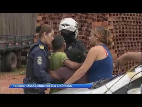 Bandidos fazem reféns dentro de ônibus no Pará
