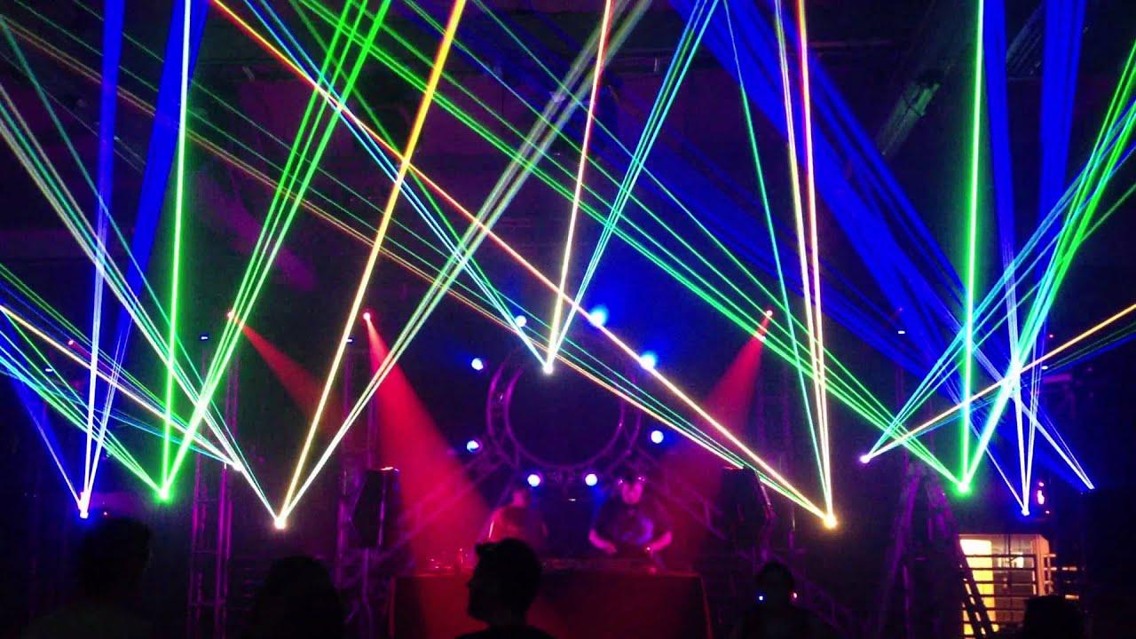 beamin lasers rave laser beams youtube