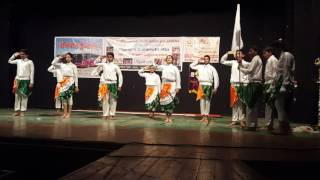 best petriotic dance choreography on vande mataram ABCD2