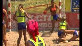 Чемпионат Украины по пляжному гандболу в Ильичевске
