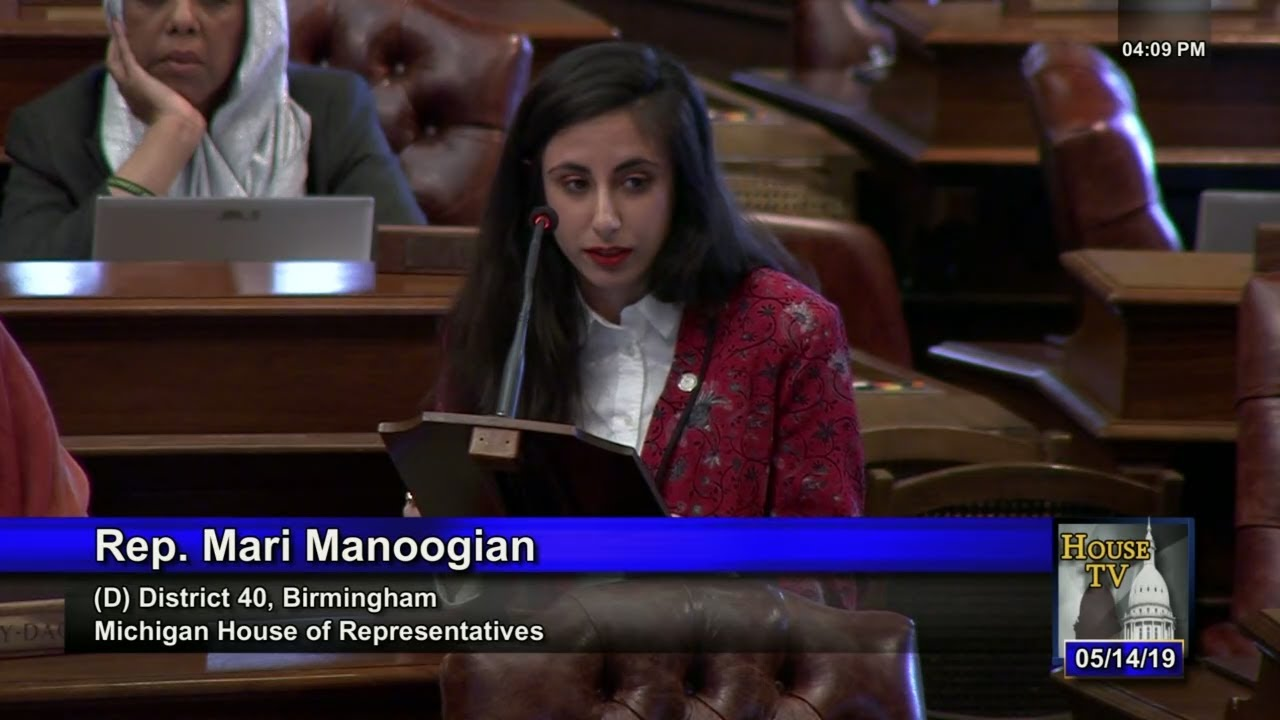 Rep  Mari Manoogian Speaks Against on Republican Attack on Reproductive  Health Care