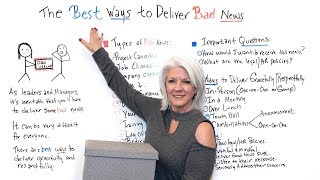 The Best Ways to Deliver Bad News - Project Management Training