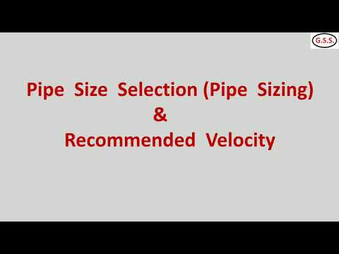 Piping Engineering : Piping Material Selection Criteria, Pipe Sizing & Thk Calculation As Per ASME