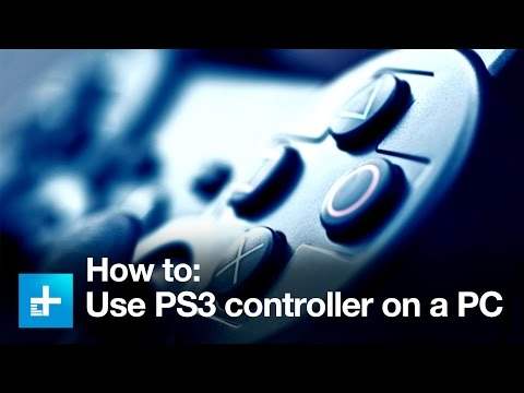 How To Use A PS3 Controller With A PC
