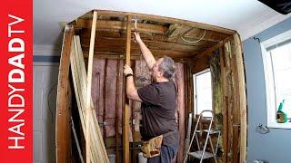 Rough Carpentry | Master Bath Remodel (Part 1)