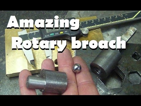 Machining 101 How To Drill A Square Hole At Home Witho