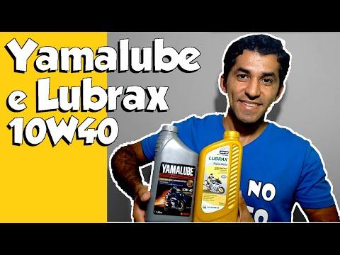Yamalube e Lubrax 10W40 opções também para Fazer 2016