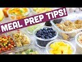 Meal Prep Tips & Hacks! - Mind Over Munch