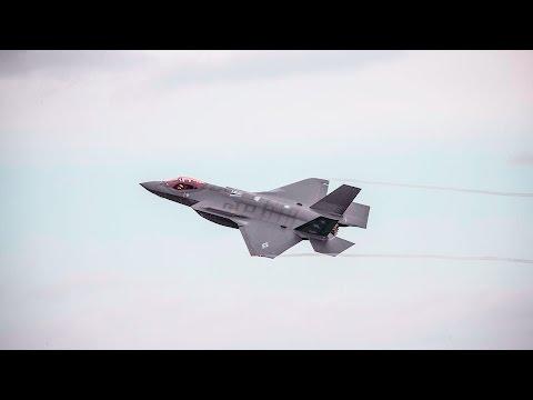 Ühendriikide moodsaim hävitaja F-35 maandus Ämaris